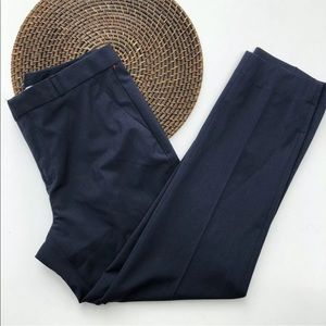 BANANA REPUBLIC Pants Blue Avery Wool Bl 12 TALL
